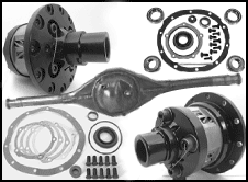 Ford 9-inch rear end components