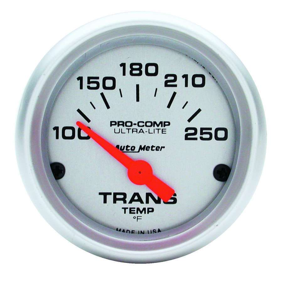 Auto Meter transmission temperature gauge.