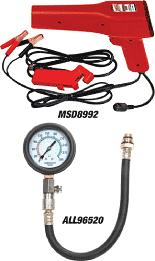 MSD Timing Light and Allstar Compression Gauge