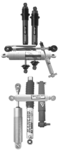 Different types of shock absorbers are tailored to maximize performance in specific applications.