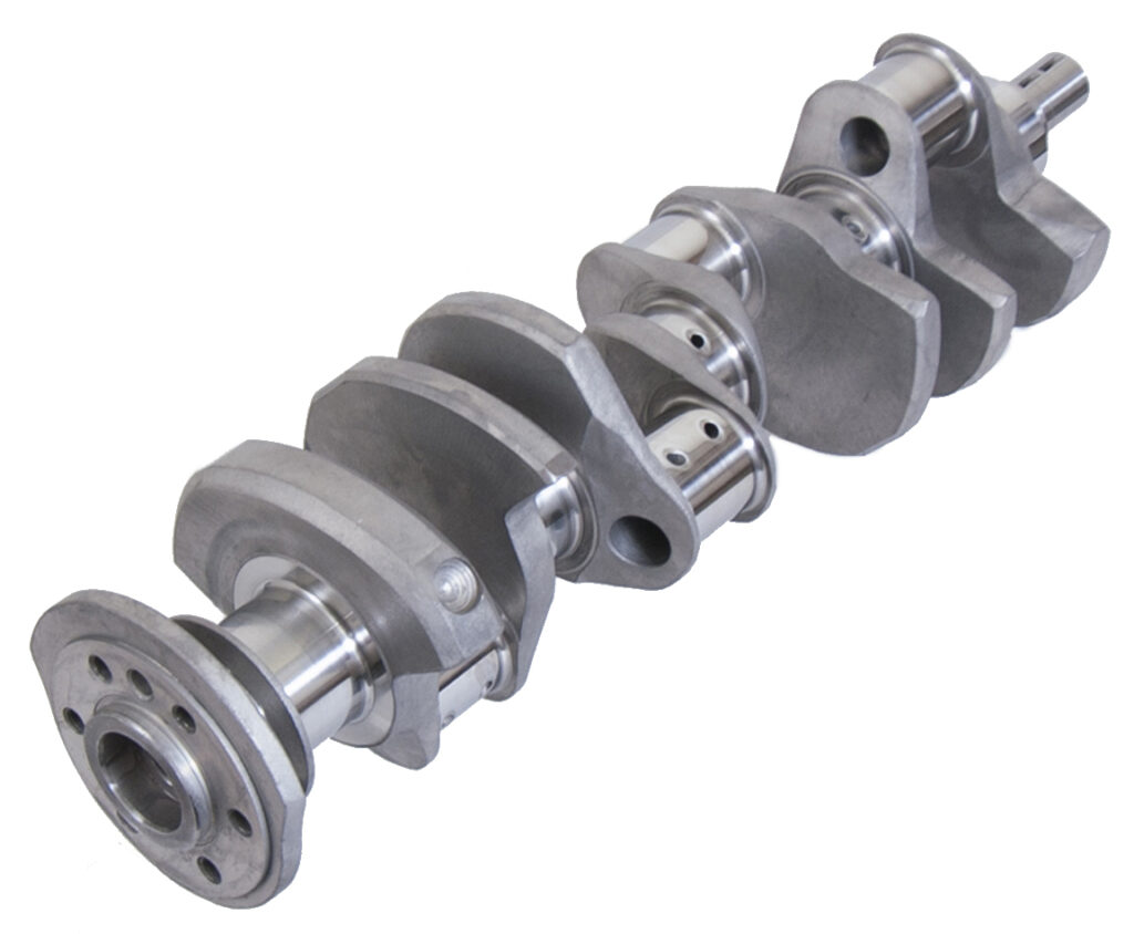 Forged Small Block Chevy Crankshaft from Eagle